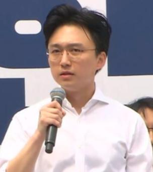 백경훈 청년이여는미래 대표./ 자유한국당 유튜브 캡처