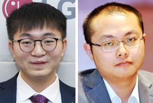 양딩신(왼쪽), 탕웨이싱