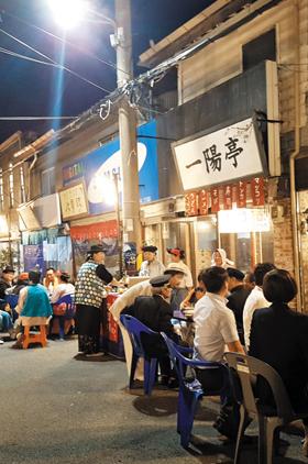 지난해 9월 전남 목포시 만호동 근대역사문화공간에서 열린 문화재 야행 행사 모습.