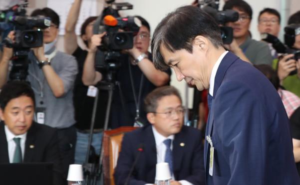 조국 법무부 장관 후보자 /연합뉴스