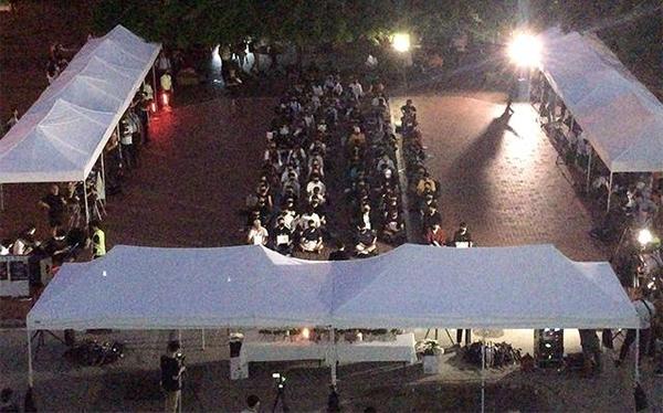 6일 서울 고려대 민주광장에서 열린 조 후보자 관련 3차 촛불집회에 고려대 학생 100여명이 참석했다. /서영일 기자