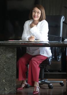 한국 여자의 체형을 가장 잘 이해하는 디자이너 지춘희./사진=김지호 기자