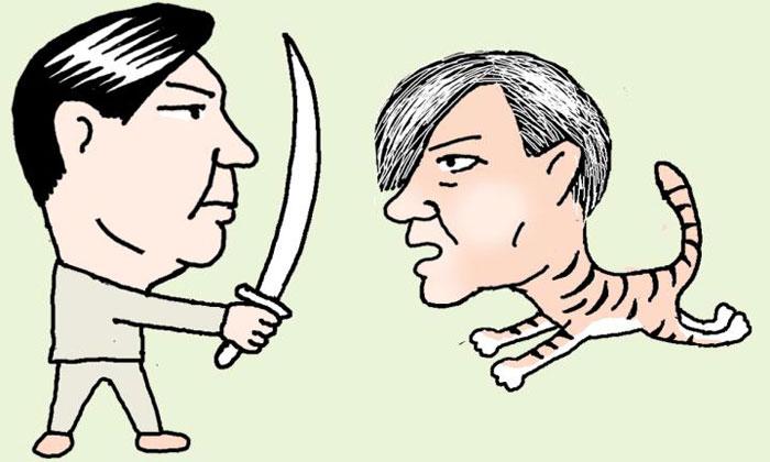 [만물상] 법무장관 對 검찰총장