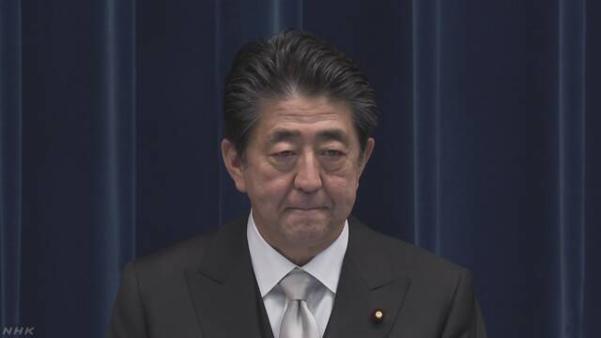 아베 신조 일본 총리가 11일 제4차 재개조 내각을 출범한 후 관련 기자회견을 하고 있다. /NHK