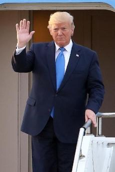 2019년 6월 방한한 도널드 트럼프 대통령 /사진공동취재단, 조선일보DB