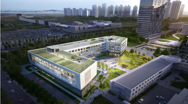 제조혁신 전문대학원이 들어설 인천 송도의 인하대 산학융합원 조감도. /인하대 제공