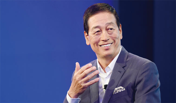 시세이도는 전 일본 코카콜라 회장 출신 우오타니 마사히코 대표를 2015년 CEO로 영입했다. 그는 자신이 세운 목표 '비전 2020(VISION 2020)'을 중국 시장 공략을 통해 조기 달성했다. /블룸버그