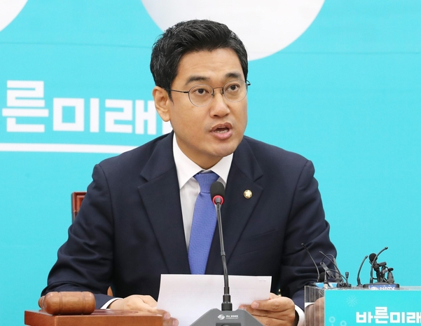 바른미래당 오신환 원내대표/연합뉴스
