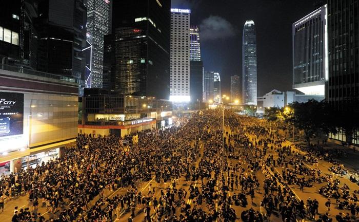 최근 반정부 시위가 커지고있는 홍콩에서도 집회 참가인원이 항상 논란거리다.