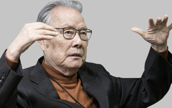 이어령 전 장관(87세). 생의 마지막 시간을 치열하게 쓰고 있다. /사진=김지호 기자