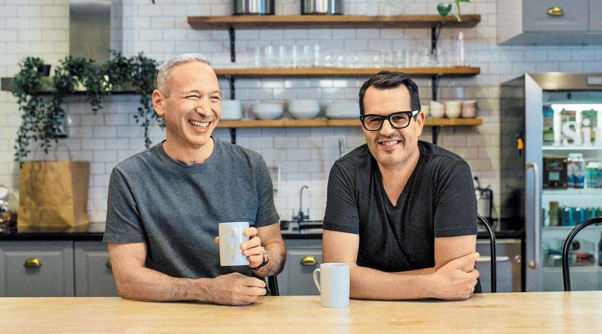레모네이드 공동 창립자인 다니엘 슈라이버(왼쪽)와 샤이 위닝거.