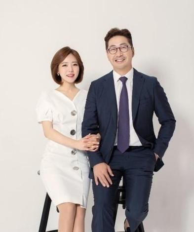 백성문 변호사와 김선영 YTN 아나운서. /백성문 변호사 인스타그램