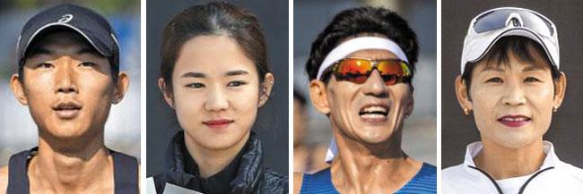 (왼쪽부터)이동진, 김수진, 신정식, 권순희