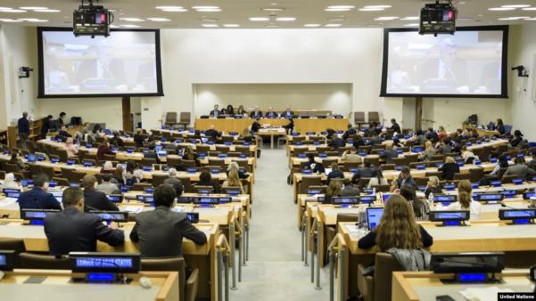 뉴욕 유엔본부에서 유엔총회 제3위원회 회의가 열리고 있다./UN·VOA