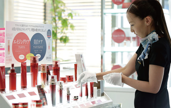 후지필름은 2007년 '아스타리프트'라는 브랜드로 화장품 사업에 진출했다./ 블룸버그