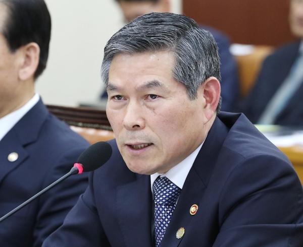 정경두 국방부 장관/연합뉴스