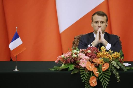 에마뉘엘 마크롱 프랑스 대통령./ 연합뉴스