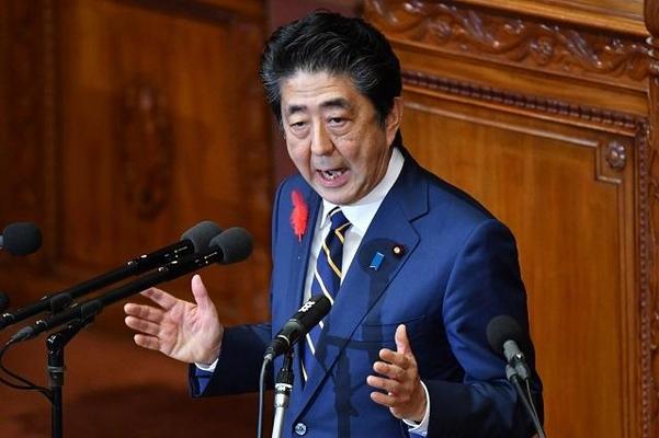 아베 신조 일본 총리./AFP연합뉴스