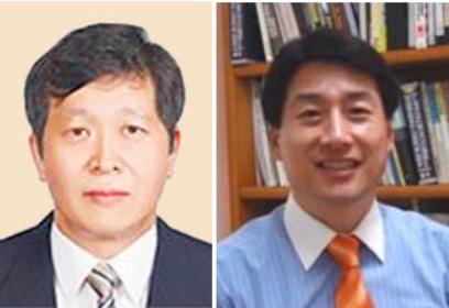 박수근 중앙노동위원장(왼쪽)과 김창룡 방통위 상임위원