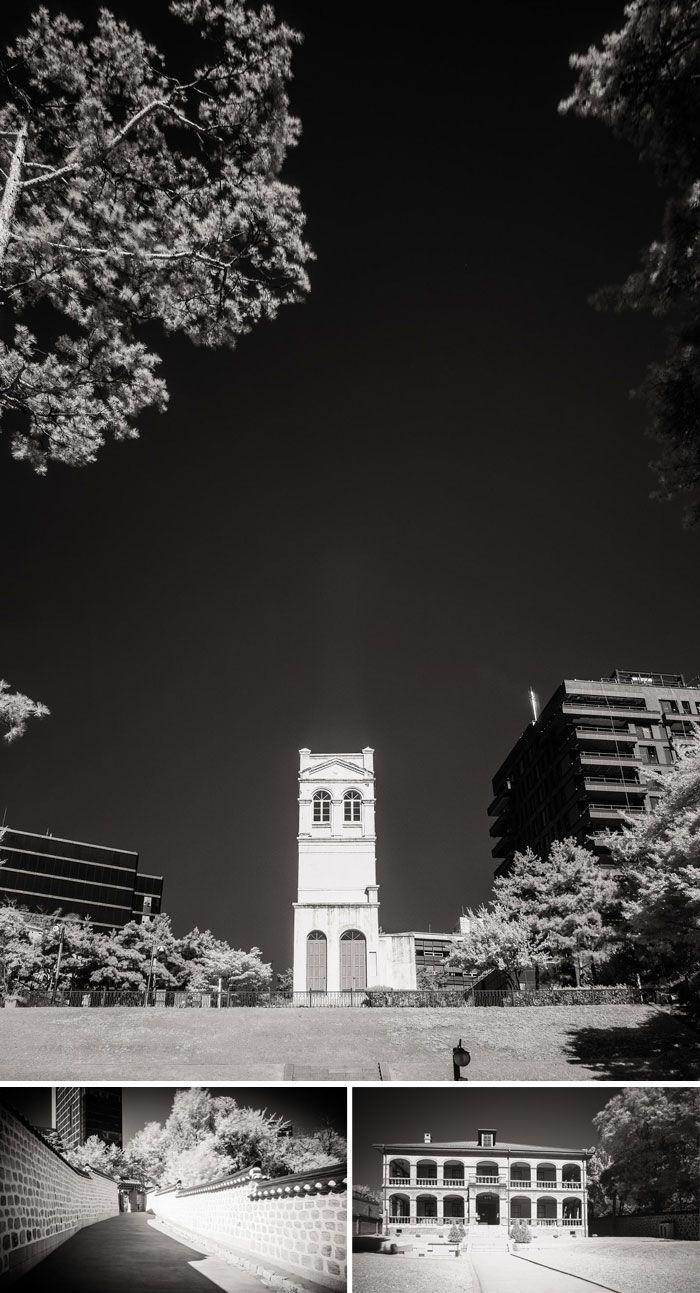 서울 중구 정동에 있는 러시아공사관 유적(위 사진).