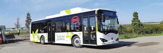 BYD·중통차 등 전기버스