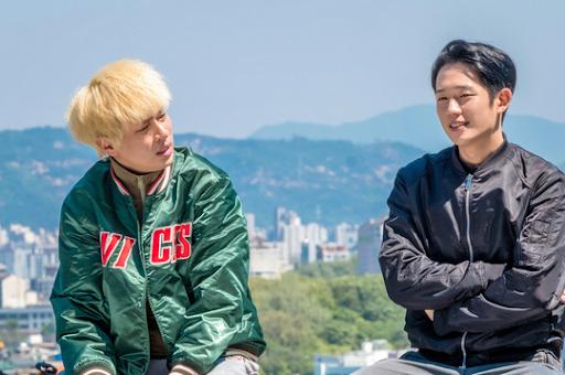 12월에 개봉하는 영화 '시동'에서 정해인과 함께 연기하는 박정민.