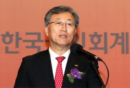 최중경 한국공인회계사회 회장. / 조선DB