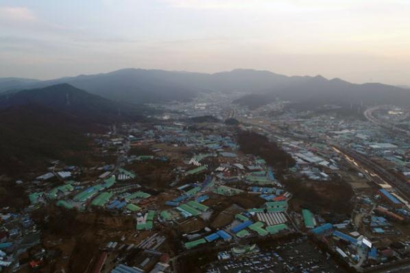 3기 신도시로 지정된 경기 하남 교산지구 일대의 모습./조선DB