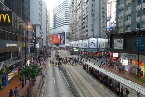 홍콩섬 코스웨이베이. /김남희 특파원