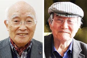 표재순 한국문화기획학교 이사장(왼쪽), 김용섭 전 연세대 사학과 교수
