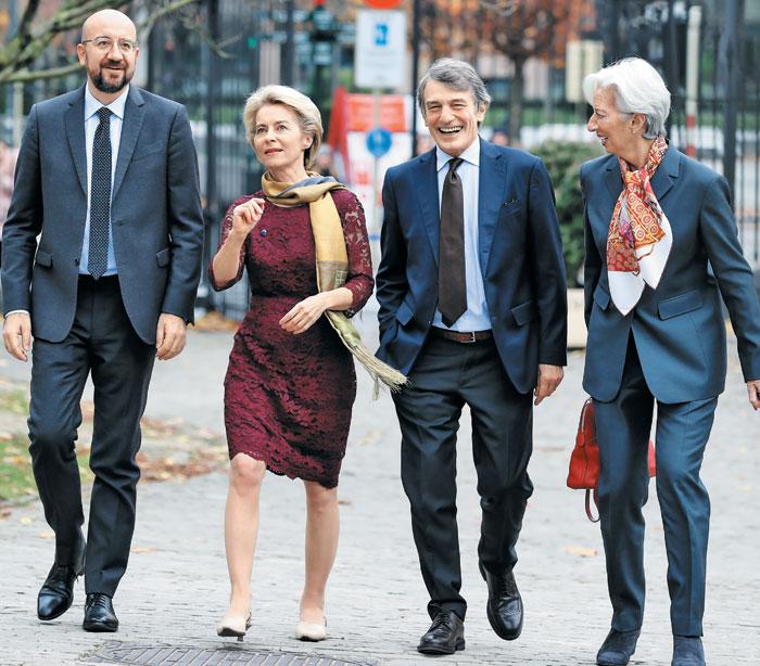 EU 새 지도부 4인방