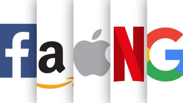 실리콘밸리 주요 기업들의 로고. /트위터 캡처