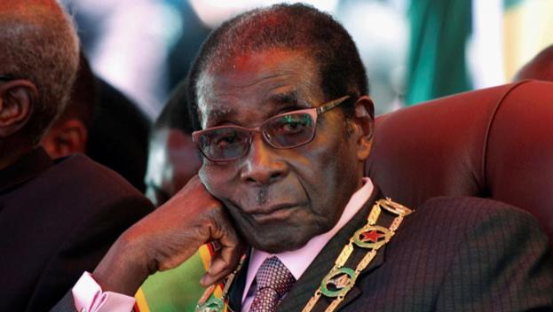생전의 로버트 무가베 전 짐바브웨 대통령. /트위터 캡처