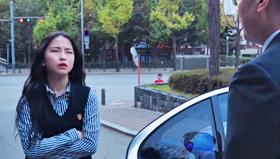 최근 유튜브에서 화제가 된 한영외고 학생들이 만든 학교 홍보 영상의 한 장면.