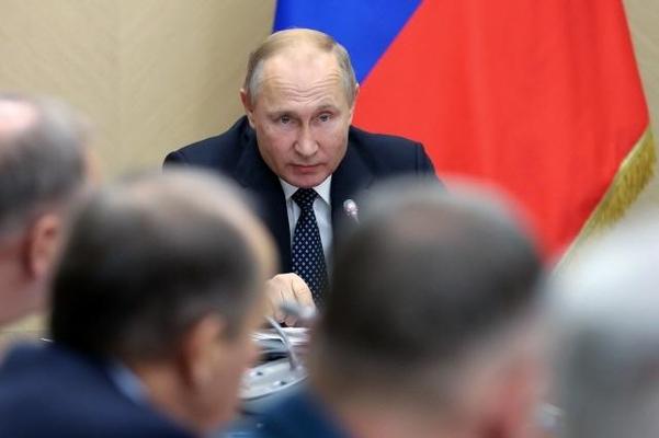 블라디미르 푸틴 러시아 대통령. /연합뉴스
