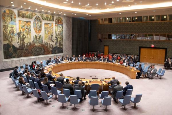 유엔 안보리 회의 장면./UN