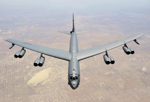 미 공군 전략폭격기 B-52H./조선일보DB