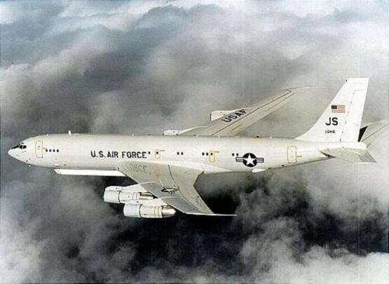 미 공군의 지상감시정찰기 'E-8C 조인트스타즈(J-STARS)'./뉴시스