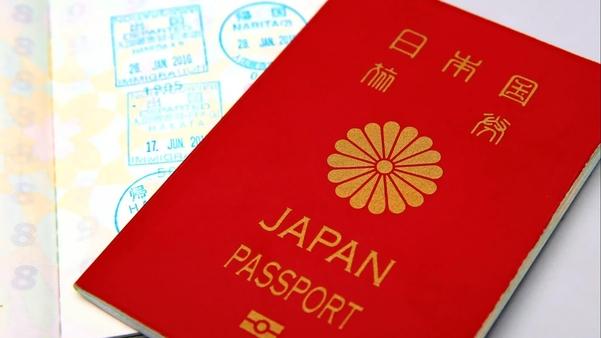 일본 여권 모습./닛케이아시안리뷰