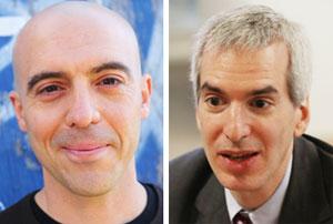 시난 아랄 美 MIT 교수(왼쪽), 제러미 캐플런 뉴욕시립대 교수