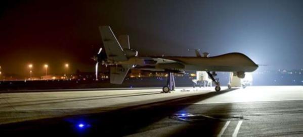 플로리다 주 헐버트(Hurlburt) 기지에서 이륙 대기 중인 MQ-9 리퍼. /미 공군