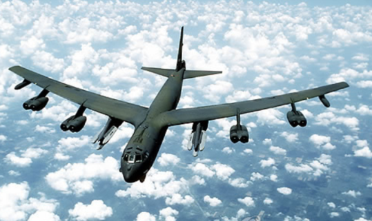 미국의 전략폭격기 B-52. /연합뉴스