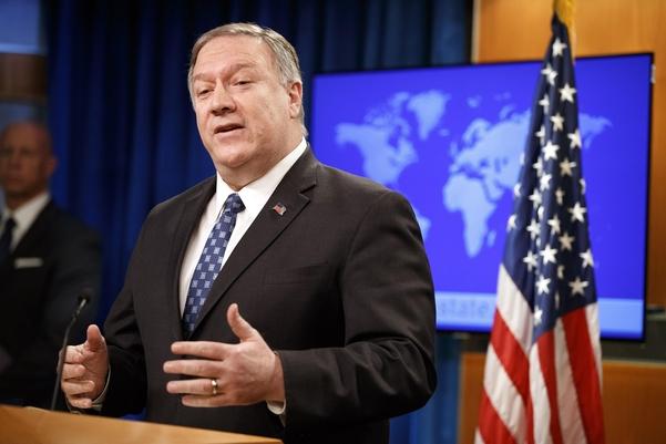 마이크 폼페이오 미국 국무장관./AP연합뉴스