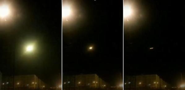 뉴욕타임스와 CNN이 입수한 우크라이나 항공기 피격 당시 추정 영상. /트위터 캡처