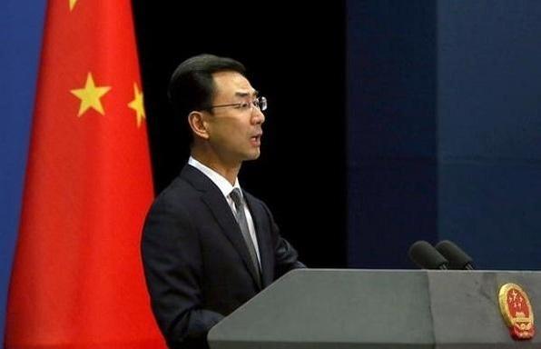 중국 외교부 겅솽 대변인. /UPI 연합뉴스