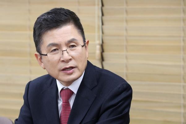 자유한국당 황교안 대표/연합뉴스