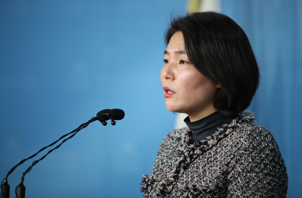 자유한국당 전희경 대변인/연합뉴스
