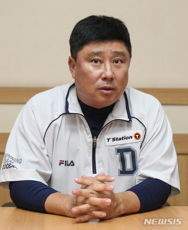 두산 김태형 감독 인터뷰