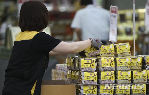 전년 동월 대비 8.4% 가격 상승한 즉석밥