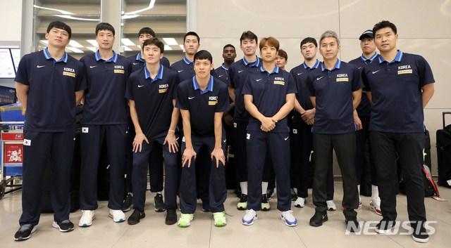 월드컵 출전한 농구대표팀 귀국